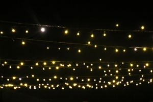 backgrounds minimalism evening wedding lights shiny