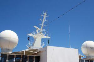 balls ship blue sky msc cruise ship holiday swim water fun boat