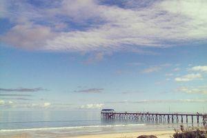 beach jetty south australia