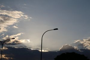 beautiful sky blue sky lamp post scenery cloudscape sky lamp clouds