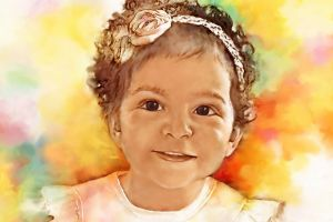 birthday gift egyptian alondra drawing egypt female daughter girl