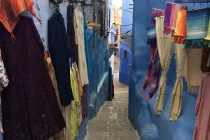 blue city square chefchaouen africa city old city morocco blue beautiful
