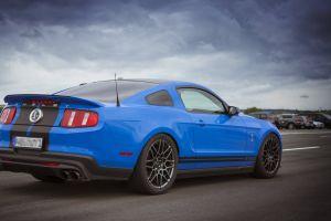 blue cloud engine transportation system public show car wheel shelby vehicle race