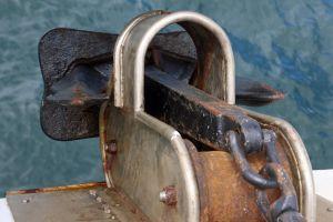 boat rust cruise nautical anchor ship