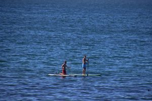 boats ocean holiday paddleboard sea fun water