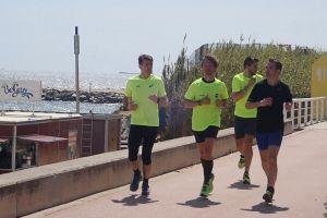 body men jog athlete active people