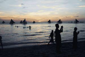 boracay beach asia philippines