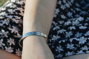 bracelet land day summer black dress dress country floral dress girl floral