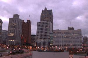 buildings urban detroit architecture city