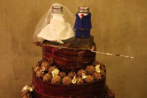 cake salt wedding cake gold salt and pepper golden pepper wedding yummy chocolate
