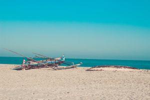 canoe sea beachlife madagascar sea beach