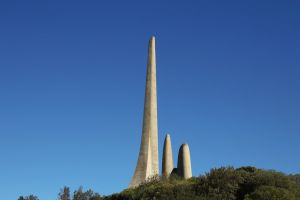 cape town three hill blue sky south africa concrete language towers architecture design