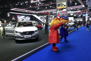 car impact exhibition center bangkok mascot thailand motor show exhibition center automotive international motor show automobile