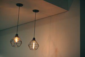 ceiling indoors bulb minimalistic string light bulb lantern light electric minimalism electric light
