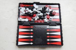 chess set girl piece white family strategy play team toy