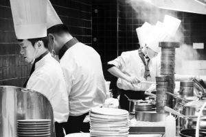 china job kitchen working restaurant career people cook chinese