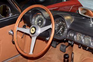 classic car automobile wing hand brake wing mirror brown transportation car interior window winder rear view mirror