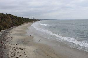 cliff coast ocean shore beach coast line coast
