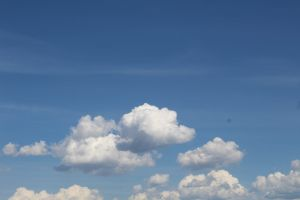 cloud blue sky alberta nature