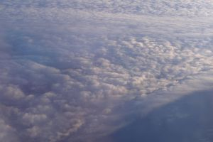 cloud clouds plane airplane flying flight