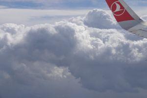cloud flight airplane plane flying clouds