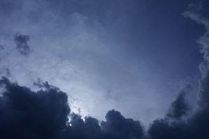 cloudy sky clouds blue dark clouds