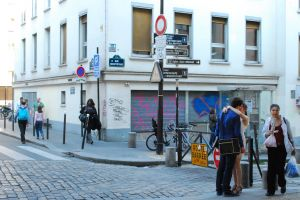 cobblestone street street cobblestone