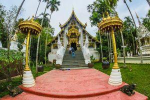 colorful asian tourism ancient myanmar burma religion sky peace gold