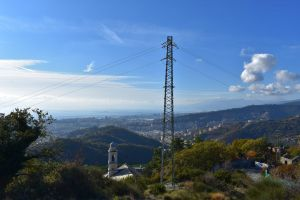communucation technology city blue mountain nature