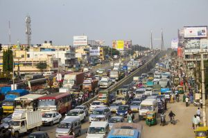 congestion traffic signal kr puram traffic road traffic urban traffic jam bangalore roads india