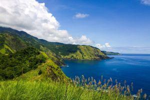 cove coastal land province luzon pacific aurora green hiking spots asia blue sky