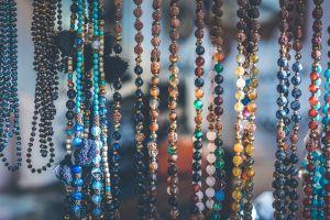 craft shiny accessory blur fashion elegance decor art necklace focus