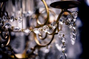 design art color close-up crystal glass items chandelier glass jewelry light