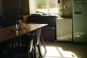 doubleb their fridge chair coffee shop coffee table light