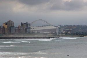 durban clouds south africa skyline nature ocean harbour stadium cruise