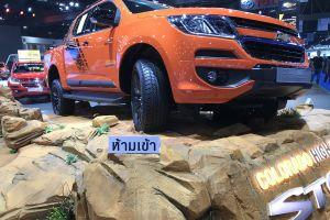 exhibition center international motor show close-up car show motor show impact exhibition center orange bangkok chevrolet automotive