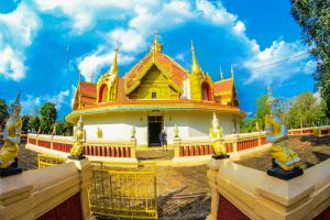exterior tourism asia wat spirituality golden ancient lee grand building