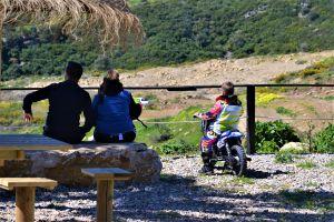 family biker motocross raider