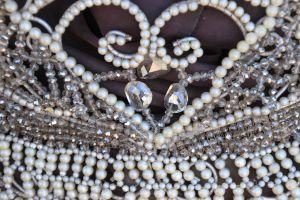 fashion heart beads art crystals