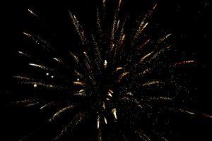 fireworks firework dark light bright fire spark