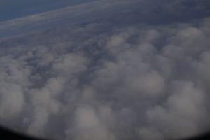 flight cloud plane clouds airplane