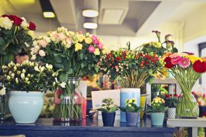flower arrangement glass petals flora flowerpot flowers colors jar flower vase design