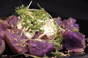 foodporn food purple potato