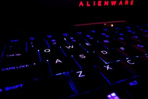 gamer technology gaming information technology beast alienware lights science dell computer keyboard