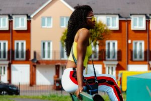 girl urban shades fashion model young woman daylight cute female