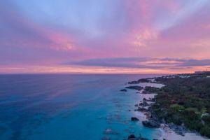 golden hour sunrise sun colors explore purple beach ocean bermuda water