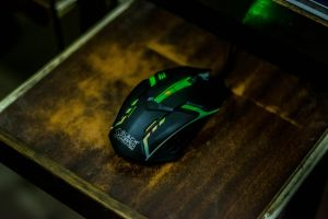 green mouse rgb mouse new led rgb dslr wood black copper