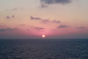 hd wallpaper water sea horizon sky sunrise nature seascape sun ocean