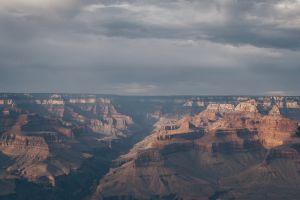 high angle shot erosion sandstone geology dawn landscape cliff sunset mountain canyon