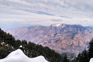 india snow mountains snow capped